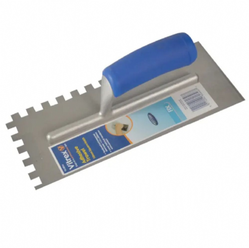 "Vitrex 102954 10mm Square Notched Adhesive Trowel 11"" x 4½"""